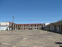USA - Tucumcari NM - Abandoned Economy Inn Motel Rooms (21 Apr 2009)